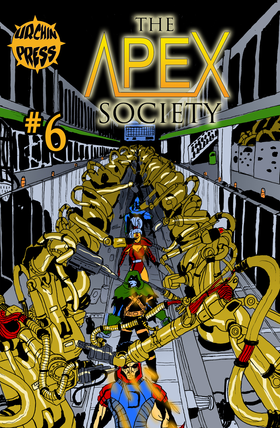 Issue #6 Cover