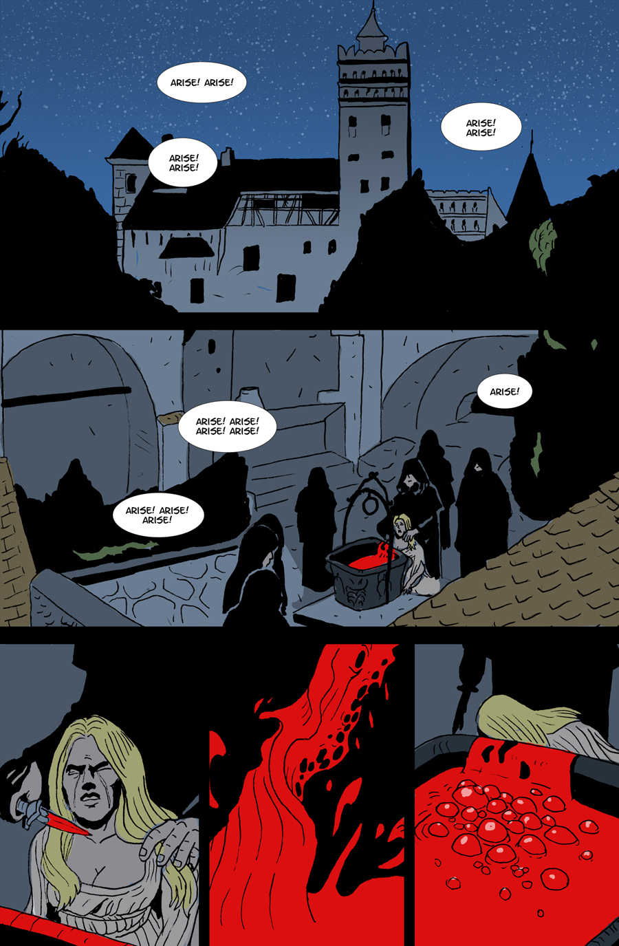 Undeath #1 Page 1
